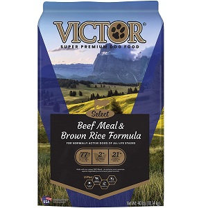 Victor Select - Beef Meal & Brown Rice Formula