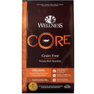 Wellness Core Natural Turkey Meal Dry Dog Food