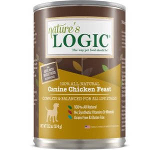 Nature's Logic Canine Chicken Feast All Life Stages Grain-Free Canned Dog Food