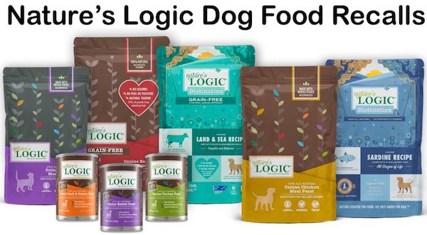 Nature's Logic Dog Food Recalls