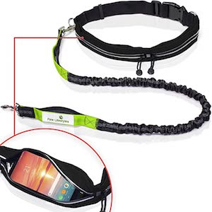 Paw Lifestyles Retractable Hands Free Large Dog Leash