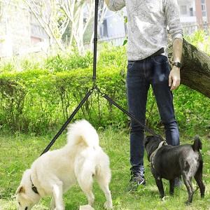 Peteast Adjustable Double Dog Leash