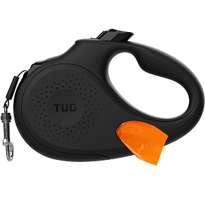 TUG Oval 360° Tangle-Free Retractable Dog Leash