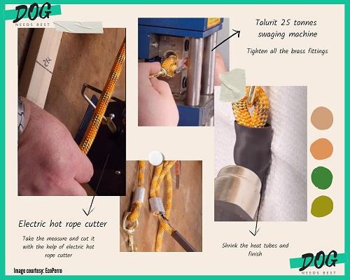 DIY Dog Leash Idea by Eco Perro
