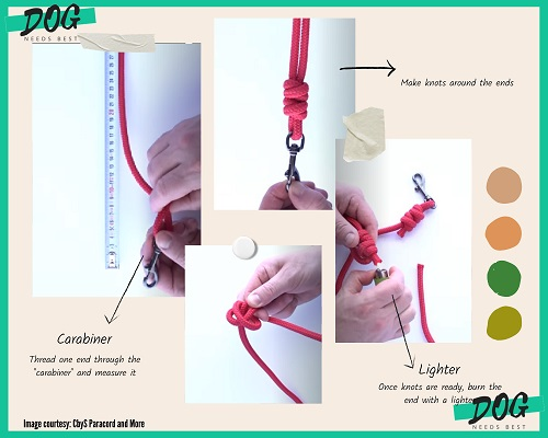 How to make Dog Leash Idea by Cbys Paracord and More