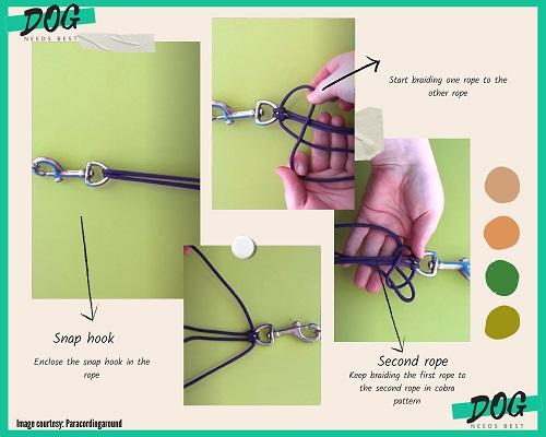 How to make Dog Leash Idea by Paracordingaround