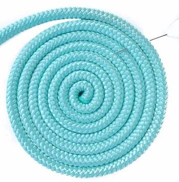 frisbee floating dog rope toy